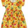 vestido infantil feminino frutas amarelo elian 231414 2