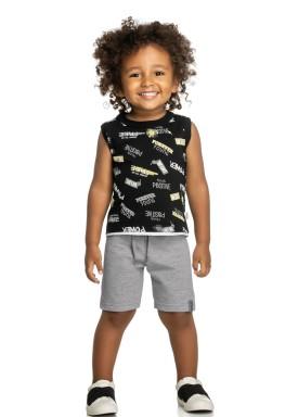 conjunto infantil masculino positive preto elian 221059 1