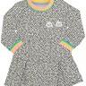 vestido bebe infantil feminino rainbow mescla alakazoo 67450 3