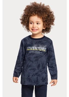 camiseta manga longa infantil masculino adventure verde alakazoo 67398 1