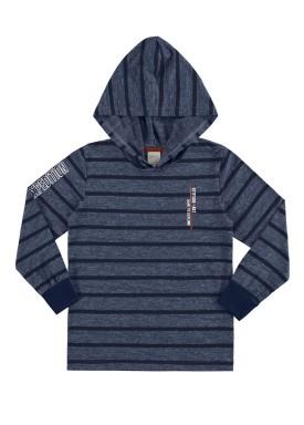 camiseta manga longa infantil juvenil masculino expedition marinho alakazoo 67417