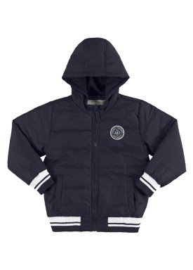 jaqueta infantil masculina akz cinza alakazoo 65799