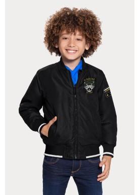 jaqueta infantil masculina tiger preto alakazoo 65801 1