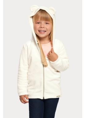 jaqueta pelo infantil feminina offwhite alakazoo 67485 1