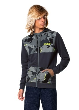 jaqueta moletom juvenil masculina camuflada cinza fico 68443 1