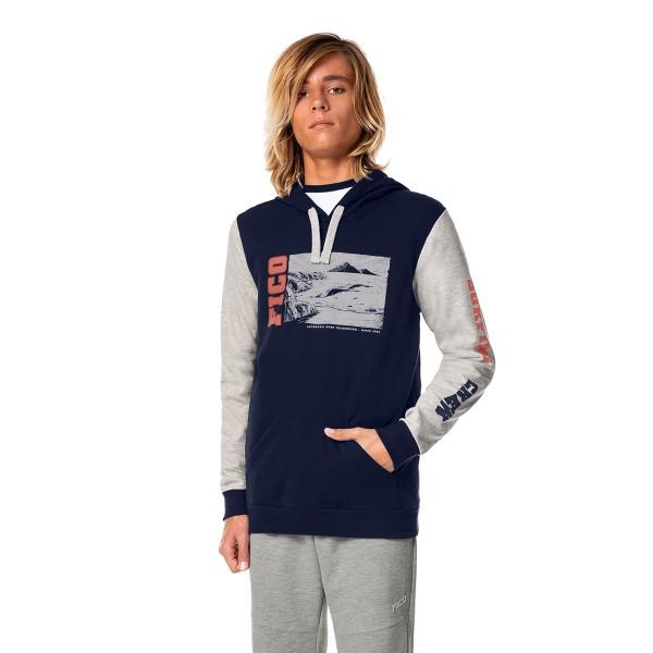 blusao moletom juvenil masculino surfing marinho fico 68438 1
