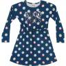 vestido manga longa infantil feminino good vibes marinho elian 251419 2