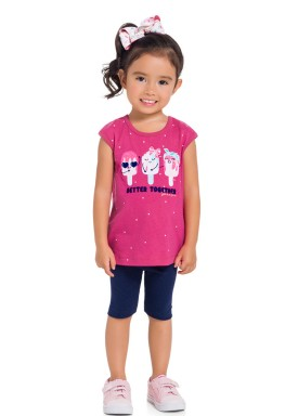 conjunto infantil feminino better together rosa brandili 34288 1