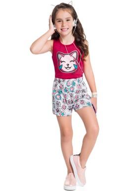 conjunto infantil feminino hello girl pink brandili 34361 1