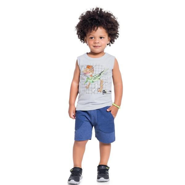 conjunto infantil masculino velociraptor mescla brandili 34248 1