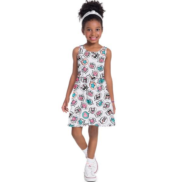 vestido infantil feminino puppies mescla brandili 34605 1