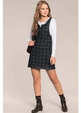 vestido blusa juvenil feminino preto lunender hits 67565 1