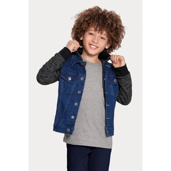 jaqueta jeans infantil juvenil masculina alakazoo 67252 1