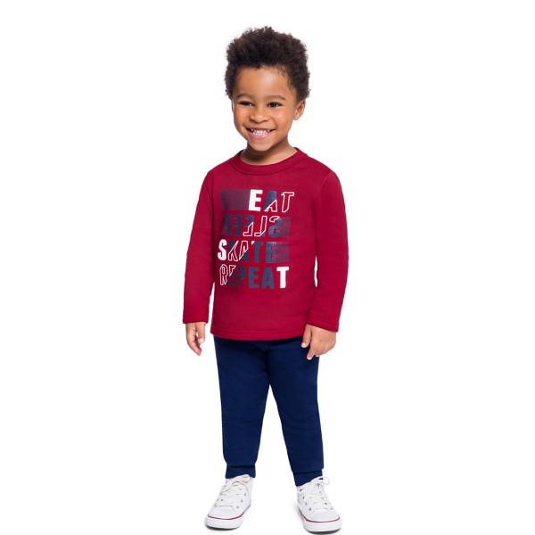 conjunto moletom infantil masculino skate bordo brandili 53971 1