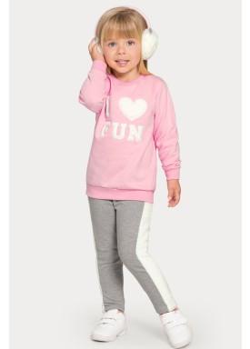 conjunto moletom infantil feminino fun rosa alakazoo 67467 1