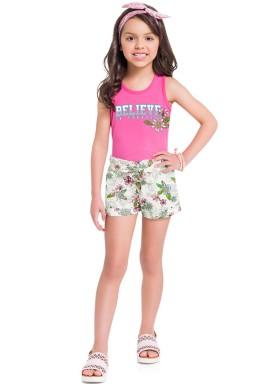 conjunto infantil feminino believe rosa brandili 34219 1