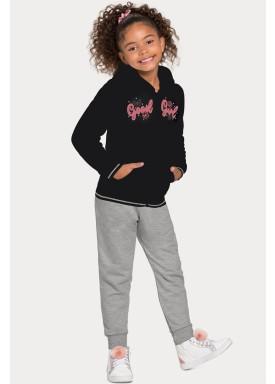 conjunto moletom infantil juvenil feminino good girl preto alakazoo 67558 1