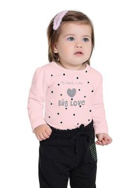 blusa manga longa bebe feminina big love rosa fakini 1002 1