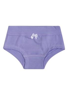 calcinha infantil feminina lilas upman mini 464c1