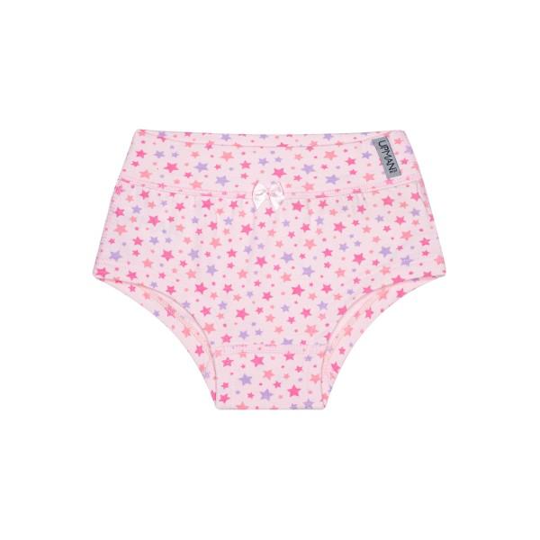calcinha infantil feminina estrelas rosa upman mini 464c5