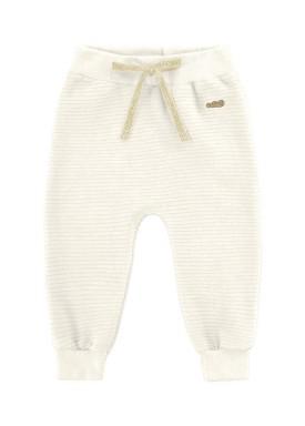 calca gorgurinho bebe unissex marfim marlan 20465