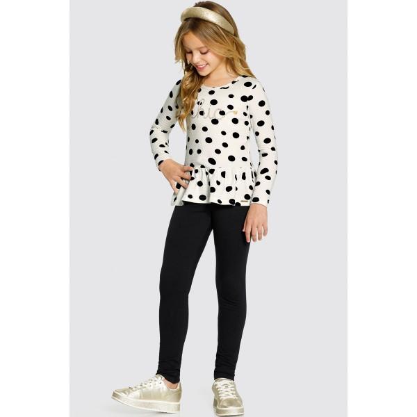 conjunto manga longa infantil feminino chic offwhite alakazoo 61639 1
