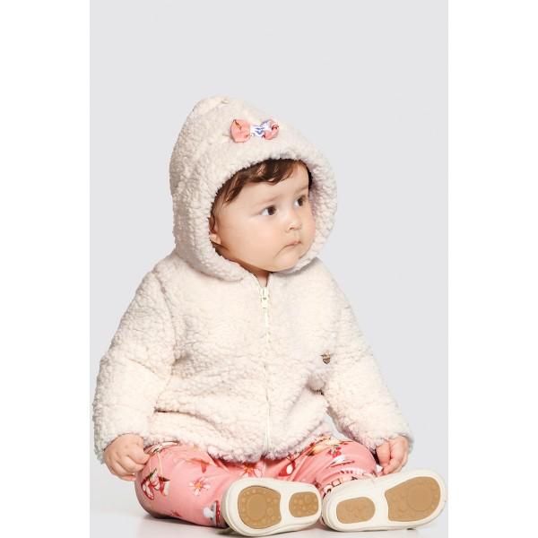 conjunto pelo bebe feminino animais salmao alakazoo 62562 1