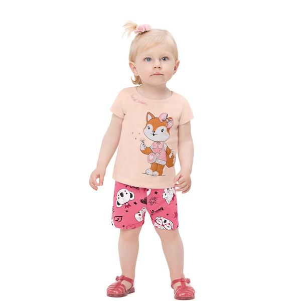 conjunto bebe infantil feminino sunset salmao alenice 41202 1