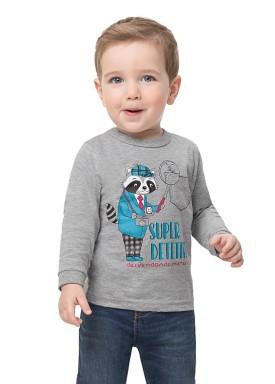 camiseta manga longa bebe infantil masculina detetive mescla alenice 41131 1