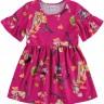 vestido infantil feminino floresta pink alenice 44556 2