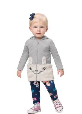 conjunto moletom bebe feminino coelho mescla alenice 41189 1