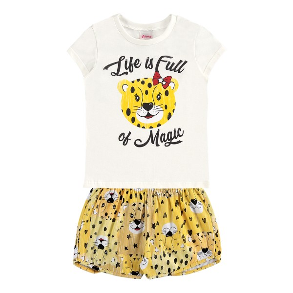 conjunto infantil feminino magic natural alenice 44553 1