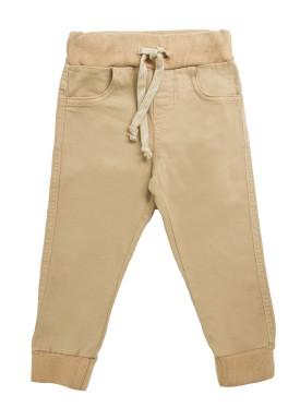calca sarja infantil menino caqui lbm s004 1