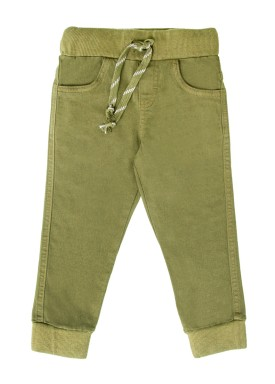 calca sarja infantil menino verde lbm s004 1