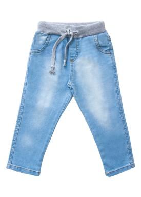 calca jeans infantil menino azul claro lbm j002 1