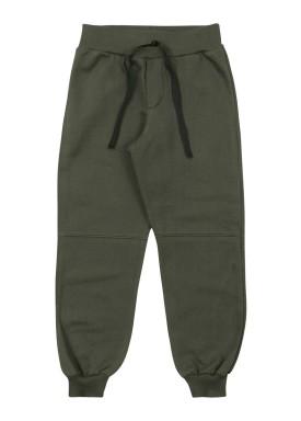 calca moletom infantil masculina verde marlan 54030