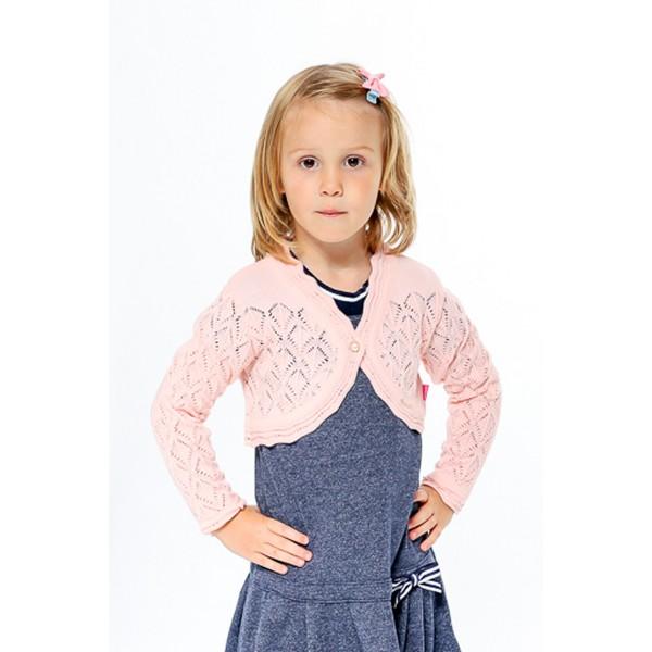 bolero trico bebe feminino rosa remyro 1226 1