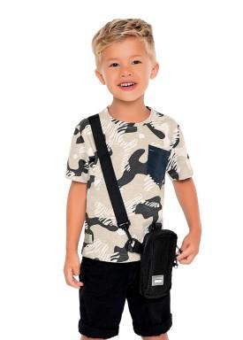 camiseta meia malha infantil masculina camuflada mescla fakini 2230 1