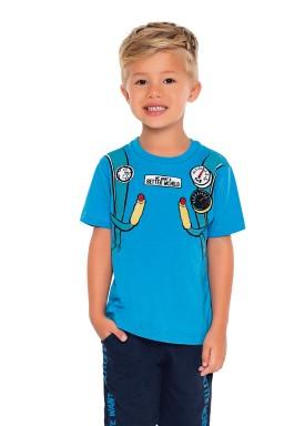 camiseta meia malha infantil masculina jetpack azul fakini 2218 1