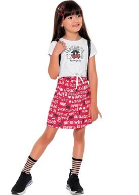 vestido meia malha moletinho infantil feminino mood branco fakini 2085 1