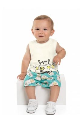 conjunto regata e bermuda bebe masculino game natural beeloop 13862 1