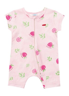 macacao curto meia malha bebe feminino sweet rosa marlan 40480