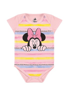 body suedine bebe feminino minnie rosa marlan d6161
