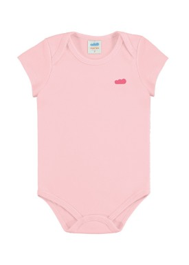 body suedine bebe feminino rosa claro marlan 54138