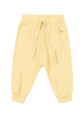 calca punho pet bebe feminino amarelo marlan 60430