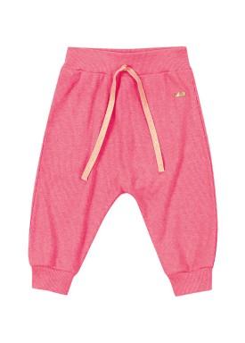 calca punho pet bebe feminino rosa marlan 60430