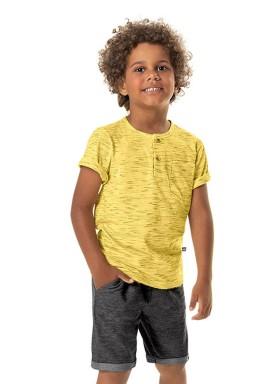 camiseta malha jet infantil masculina amarelo marlan 54232 1