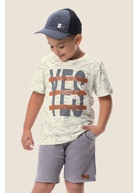 camiseta meia malha jet infantil masculina yes marfim marlan 64602 1