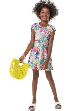 vestido cotton infantil feminino abacaxis offwhite marlan 44766 1