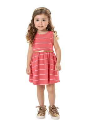 vestido cotton navy infantil feminino rosa marlan 42476 1